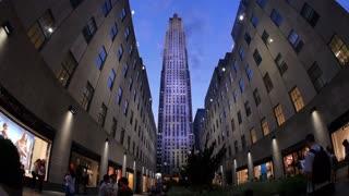 Rockefeller Center Establishing Shot