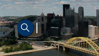 Searching for information about Pittsburgh on the Internet.