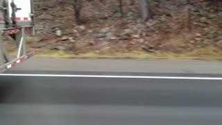 Semi Truck Passing