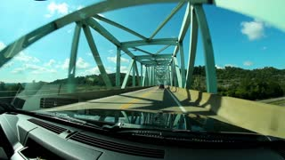 Sewickley Bridge Driving POV