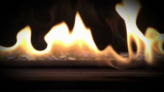 Slow motion fire and flames.  Shot at 120fps.