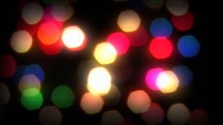 Slowly-rotating colorful Christmas lights for the holidays.