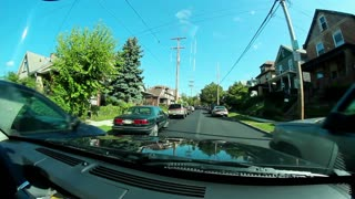 Small Town Driving POV