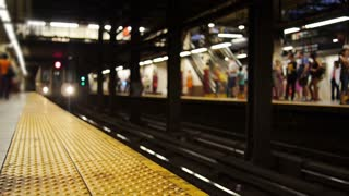 Subway Train Approaches