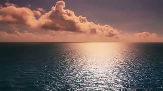 Sunny Ocean Establishing Shot