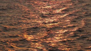 Sunset Over the Water Background