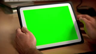 Tablet PC Chroma Key