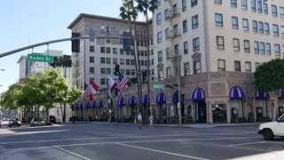 The Hotel Wilshire in Beverly Hills Establishing Shot