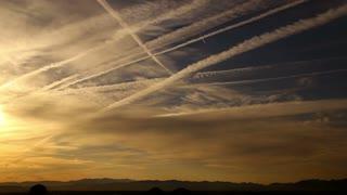 Timelapse Sunrise Desert Sky