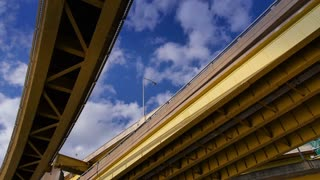 Under the Fort Duquesne Bridge Timelapse