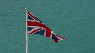 Union Jack Flag in Bermuda