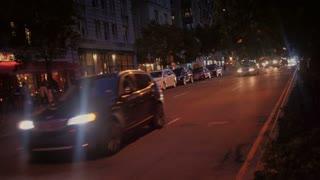 Upper West Side Night Traffic