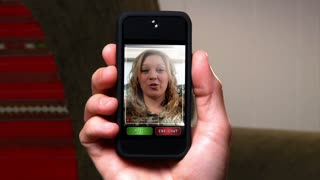 Video Chatting on Smartphone 1807