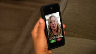 Video Chatting on Smartphone 1826