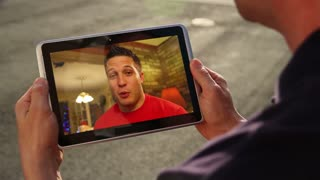 Video Chatting on Tablet PC