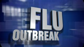 A blue dynamic 3D Flu Outbreak transition and title page animation. 5 and 2 second options included with optional luma matte for both.