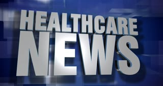 A blue dynamic 3D Healthcare News transition and title page animation. 5 and 2 second options included with optional luma matte for both.