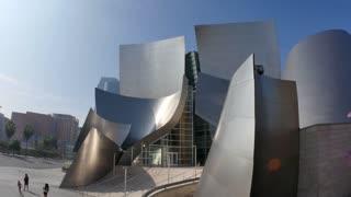 Walt Disney Concert Hall Establishing Shot
