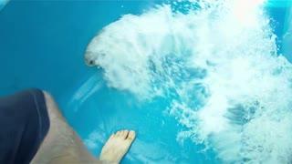 Water Slide Fun Rider POV