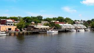 Wilmington Riverwalk Establishing Shot