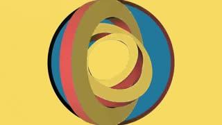 3 D Circle Logo