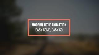 Modern Titles 23