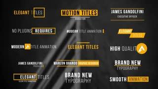 Modern Titles V 1
