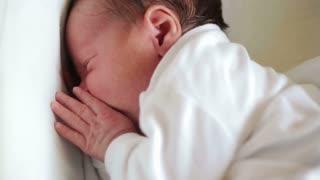 Newborn baby dissatisfied