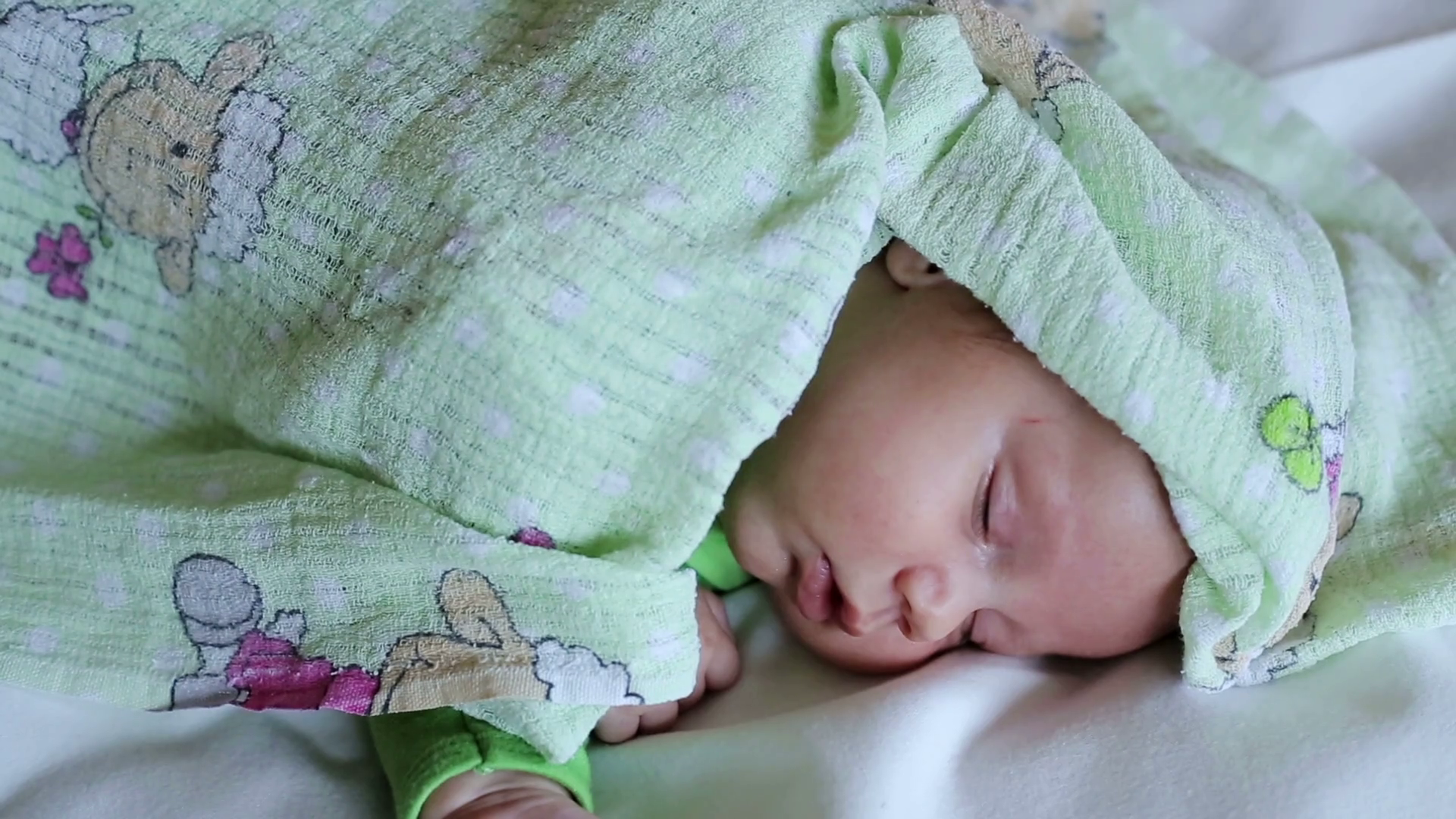 Cute Sweet Sleepy Baby Stock Video Footage Storyblocks