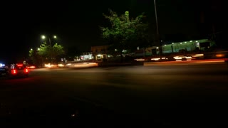Time Lapse - Timelapse of City Traffic at Night