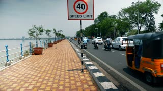 Traffic On The Road India Speed Limit