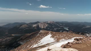 Colorado Springs Pikes Peak Time Lapse
