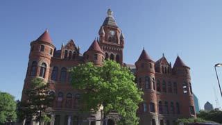 Dallas Old Red Museum Hyper Lapse
