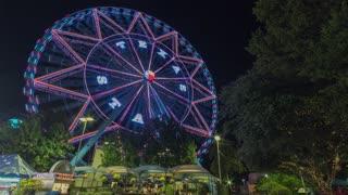 Dallas Texas Star Ferris Wheel Time Lapse