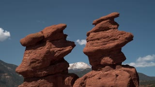 Garden of The Gods - Siamese Twins - Morning Time Lapse