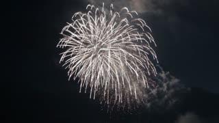 Most Beautiful Fireworks Display Celebration New Year Nagaoka Hanabi Japan 03