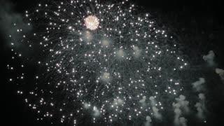 Most Beautiful Fireworks Display Celebration New Year Nagaoka Hanabi Japan 04