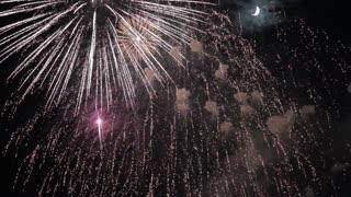 Most Beautiful Fireworks Display Celebration New Year Nagaoka Hanabi Japan 06