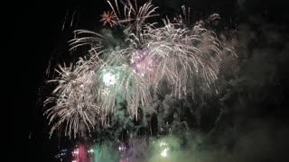 Most Beautiful Fireworks Display Celebration New Year Nagaoka Hanabi Japan 09
