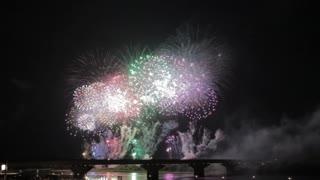 Most Beautiful Fireworks Display Celebration New Year Nagaoka Hanabi Japan 12