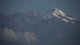 Nagarkot Nepal Himalaya Mountain Mount Everest Day Time Lapse