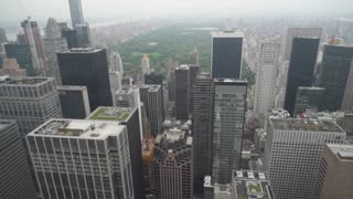New York City - Manhattan Skyline Cityscape Aerial View from Above Collection