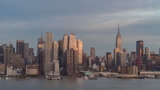 New York City Union City Day To Night Time Lapse