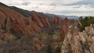 Roxborough State Park Afternoon Time Lapse With People