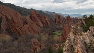 Roxborough State Park Afternoon Time Lapse
