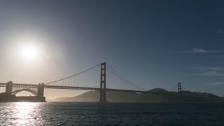 San Francisco Torpedo Wharf Sunset Time Lapse