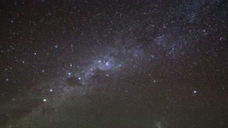Sky Stars Starry Night Milky Way Time Lapse 01