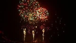 Cascades of Fireworks