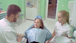 Children's Reception at the Dentist