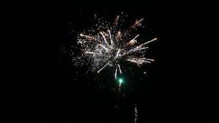 Fireworks birthday night